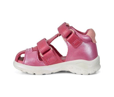 ECCO Biom Raft Sandal, Red Plum