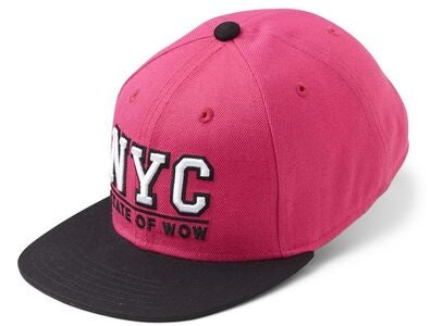 State Of Wow Toronto 2 Youth Snapback Keps, Dk Pink/Black