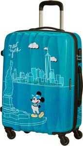 American Tourister Alfatwist Spinner Resväska 62.5L, Take Me Away Mickey NYC
