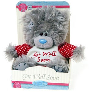 Me To You Gosedjur Nalle Get Well Soon 13 cm