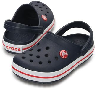 Crocs Crocband Clog, Navy/Red