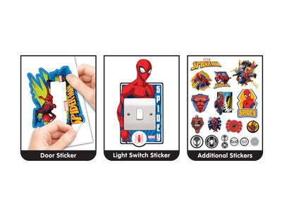 Marvel Spider-man Wallsticker, Large