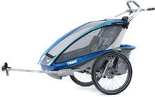 Thule Chariot CX2 Blue med Cykelkit