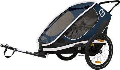 Hamax Outback Reclining Cykelvagn 2019, Navy/White