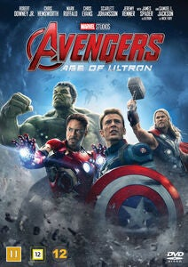 Marvel Avengers Age Of Ultron DVD