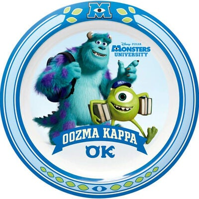Monsters University Tallrik Flat