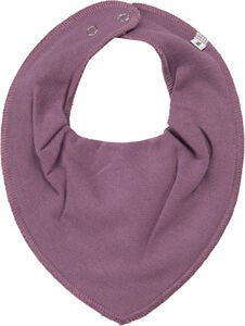 Pippi Scarf Bib, Purple