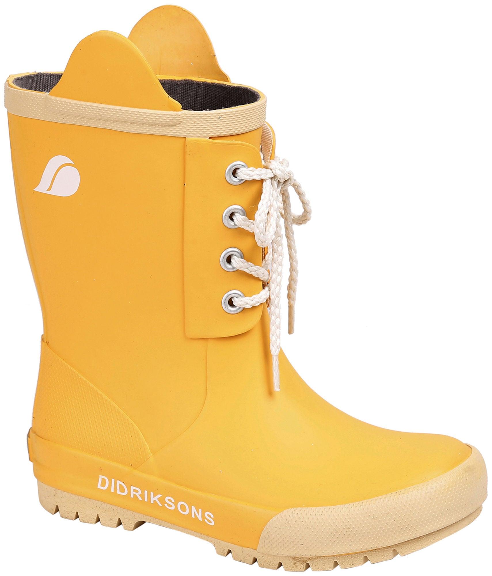Didriksons Splashman Gummistövel Yellow 33