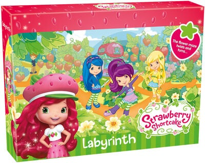 Tactic Labyrint Spel med Strawberry Shortcakes