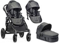Baby Jogger City Select Syskonvagn, Charcoal + Liggdel