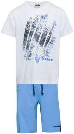 Diadora Set T-Shirt & Shorts, Optical White