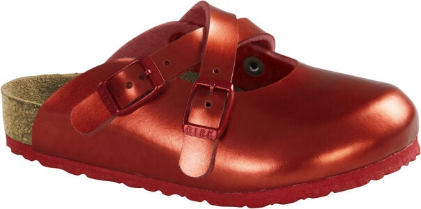Birkenstock Dorian Kids Sandal, Metallic Red