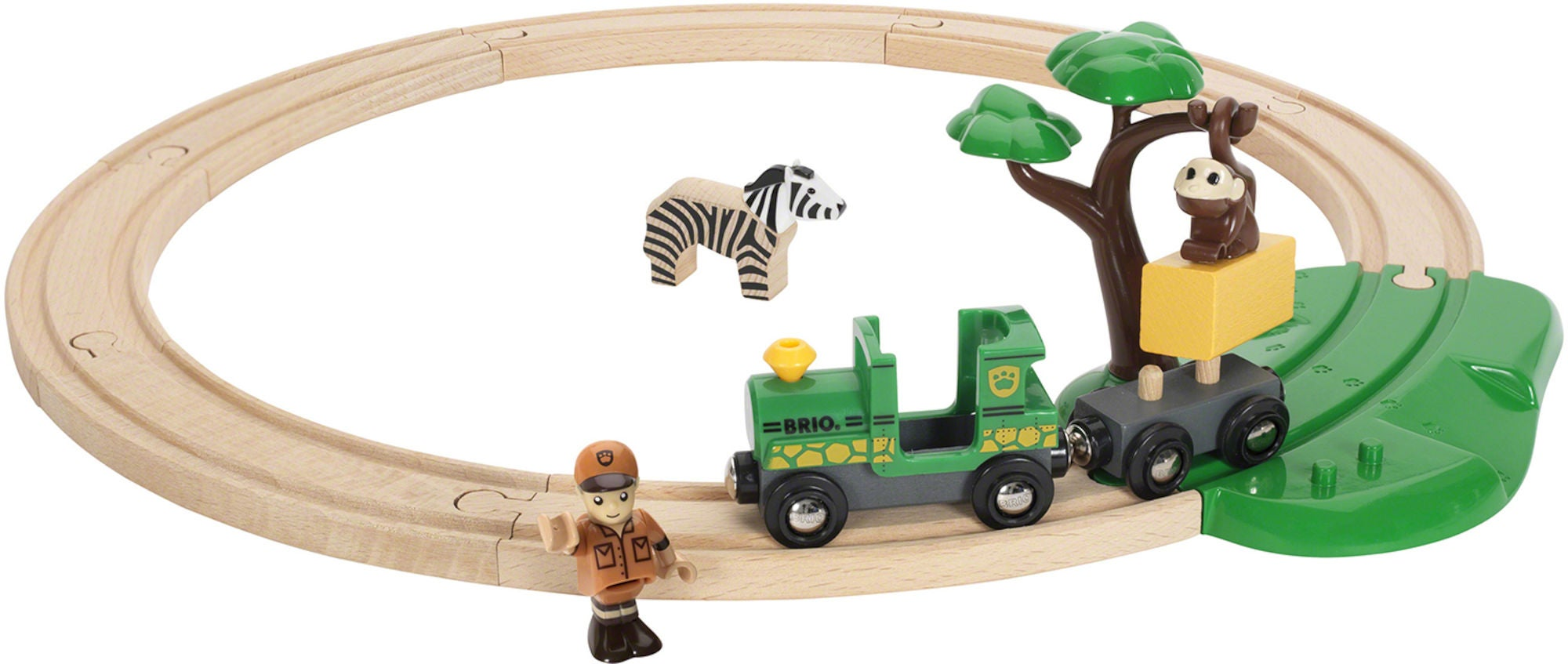 BRIO 33720 Tågbana Safari