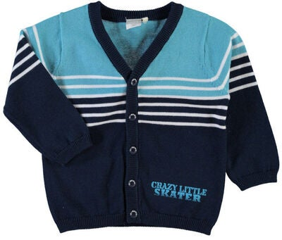 Name it Newborn Cardigan Fox, Dress Blues