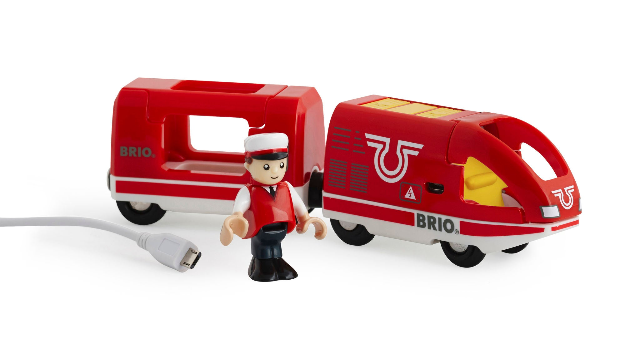 BRIO 33746 Tåg Uppladdningsbart