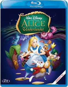 Disney Alice i Underlandet 60th Anniversary Edition Blu-Ray