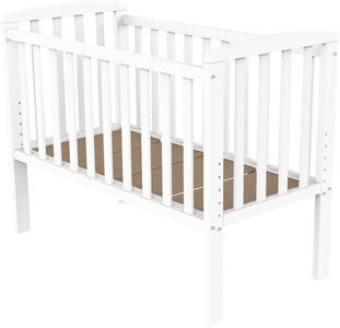 BabyDan Bedside Crib Sofie by My Side, Vit