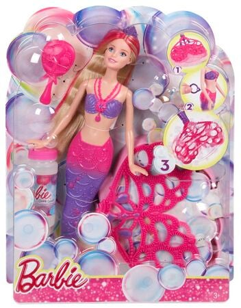 Barbie Docka Bubble-tastic Sjöjungfru