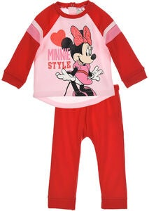 Disney Mimmi Pigg Set Jogging, Red