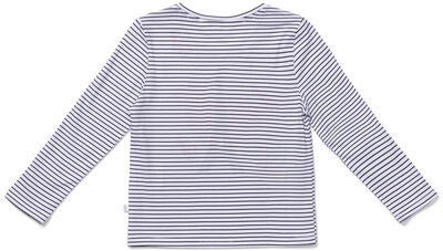 Luca & Lola Margherita Topp, White/Black Stripes