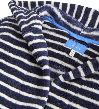 Tom Joule Morgonrock, Navy Cream Stripe