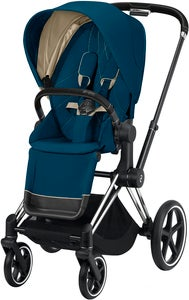 Cybex Priam Sittvagn, Mountain Blue/Chrome Black