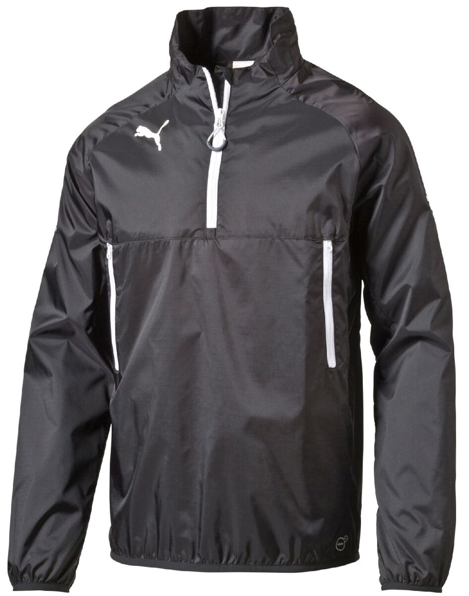 Puma Team Windbreaker Vindjacka, Svart