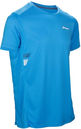 Babolat Core Flag Club Boy T-Shirt, Blue