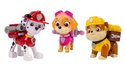 Paw Patrol Action Pack Pups 3-Pack