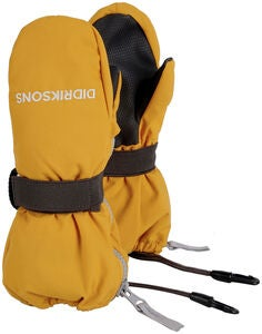 Didriksons Biggles Zip Vante, Oat Yellow