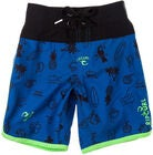 Rip Curl Pacific Rules S/E Boardshorts 12 tum, Turkish Sea