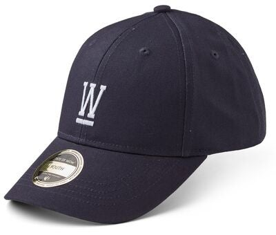 State Of Wow Wilmer Youth Baseball Keps, Navy Blue