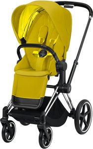 Cybex Priam Sittvagn, Mustard Yellow/Chrome Black
