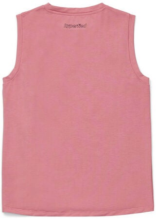 Hyperfied Jersey Knot Tank Top, Blush