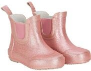 CeLaVi Wellies Short Glitter Gummistövel, Misty Rose