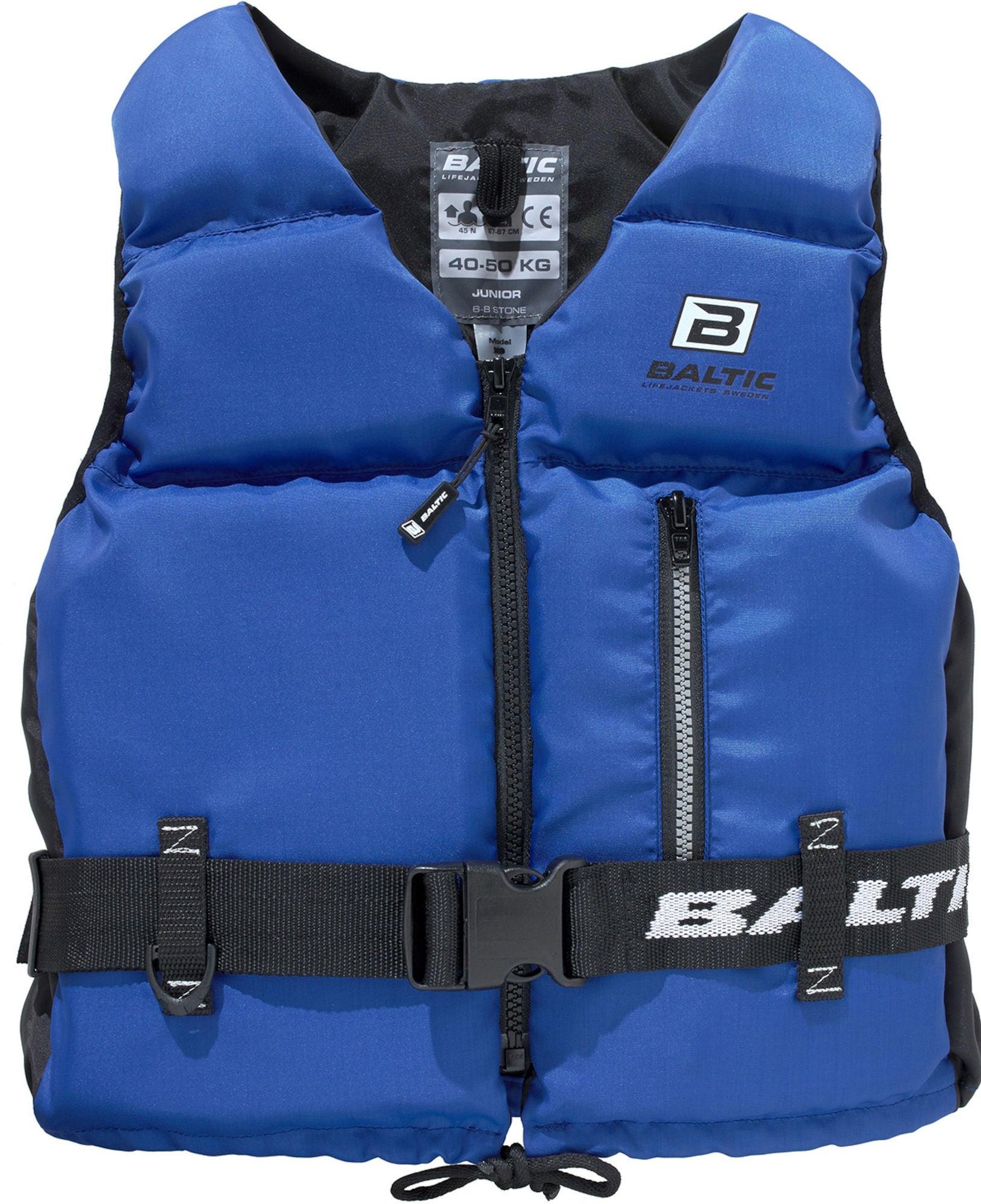 Baltic Flytväst Mistral 25-40 kg, Blå