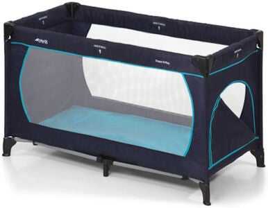 Hauck Resesäng Dream'n Play Plus, Navy/Aqua