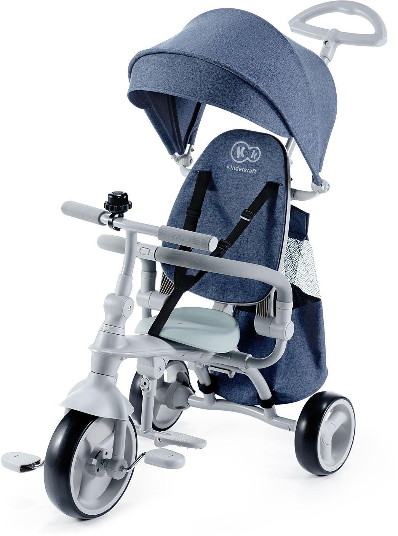 Kinderkraft Trehjuling Jazz, Mörkblå