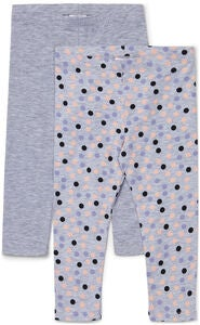 Luca & Lola Alberta ¾ Leggings 2-Pack, Grey Melange