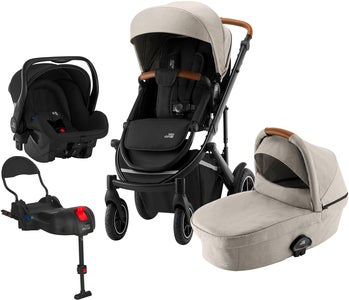 Britax Smile III Duovagn Inkl Primo Travelsystem, Beige