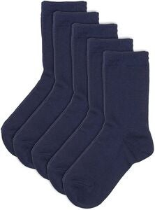 Pierre Robert Eco Basic Strumpa 5-pack, Navy