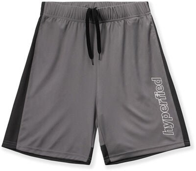 Hyperfied Flip Shorts 2-pack, Black/Silver Filigree