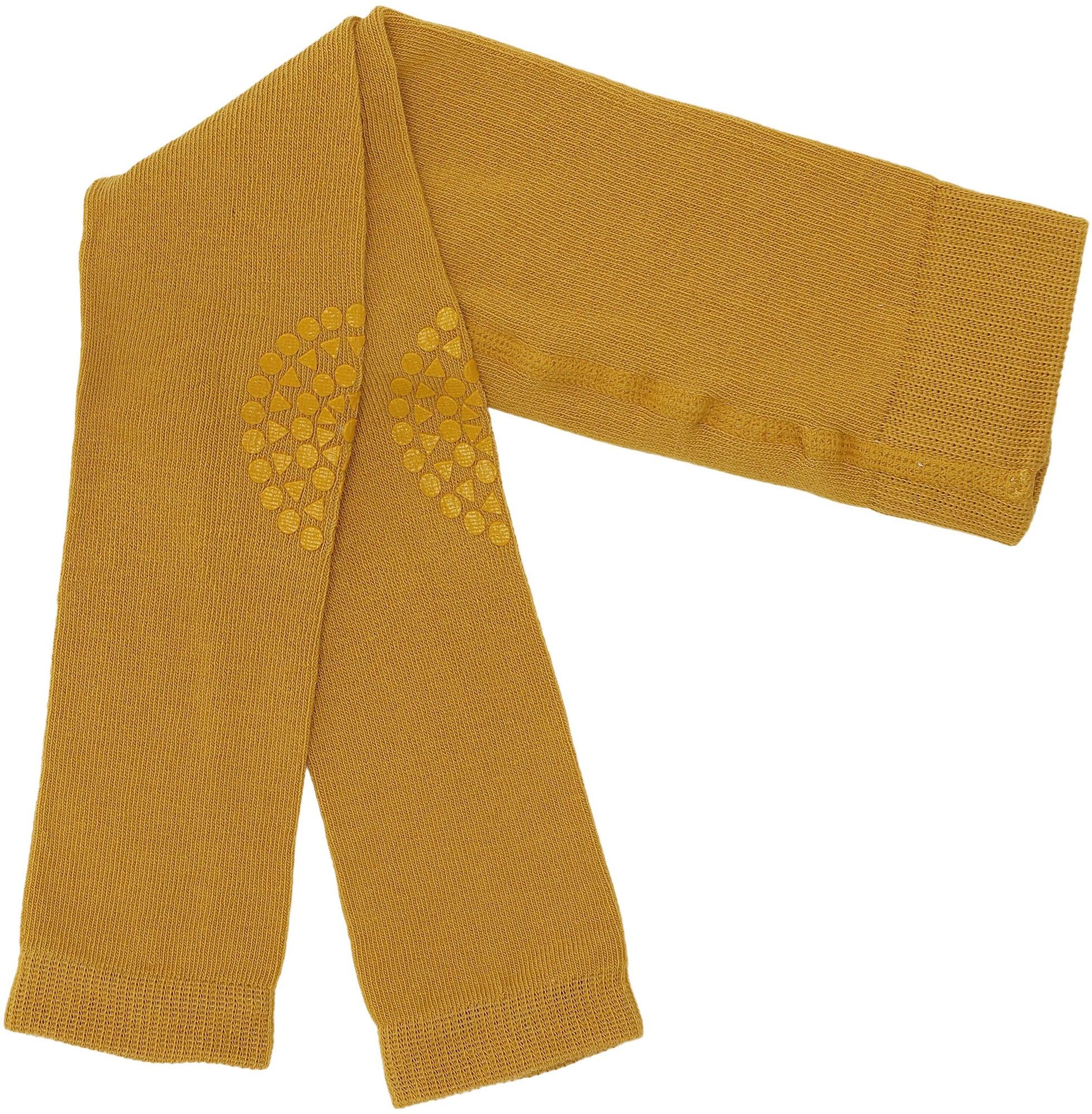 GoBabyGo Leggings för Krypning Mustard, 12-18 Månader