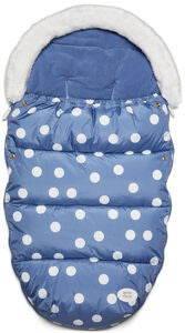 Petite Chérie Big Dots Åkpåse, Country Blue