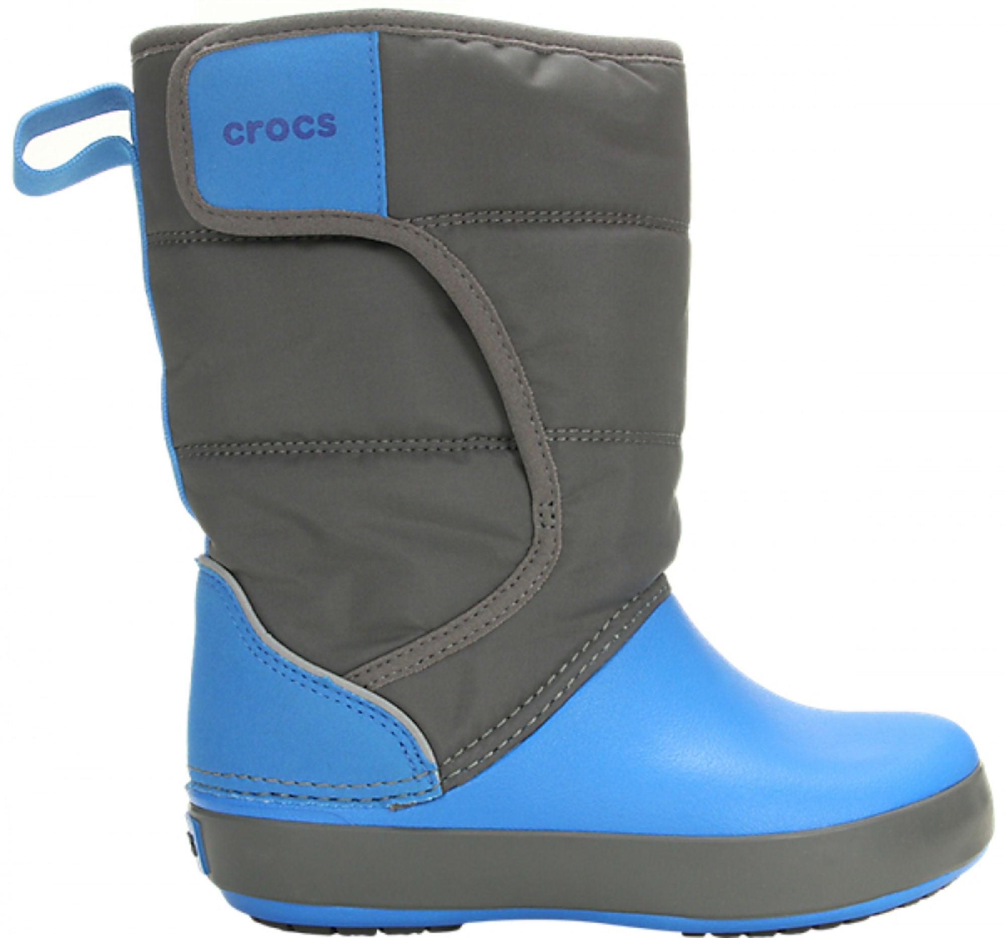 Köp Crocs Kids Crocband LodgePoint Boot, OceanNavy | Jollyroom