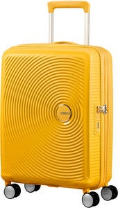 American Tourister Soundbox Spinner Resväska 35.5L, Golden Yellow
