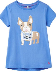 Tom Joule Pixie T-shirt, Blue Dog