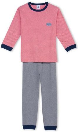 Köp Petit Bateau Pyjamas Randig Blå Vit Röd  1c095257655ee