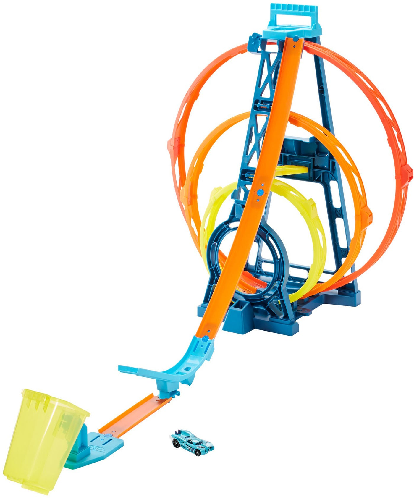 Hot Wheels Track Builder Unlimited Triple Loop Bilbana
