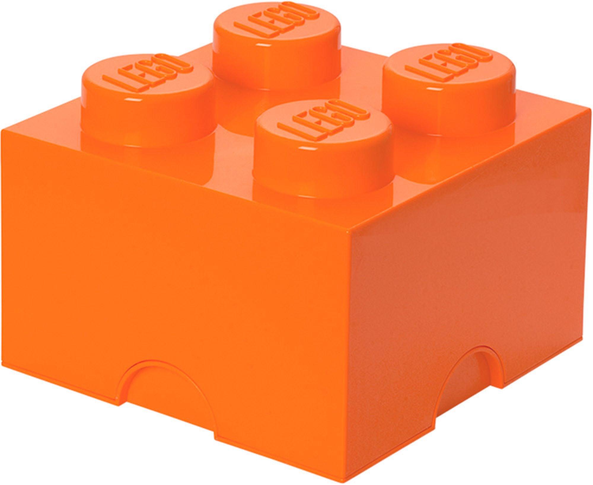LEGO Förvaring 4 Orange